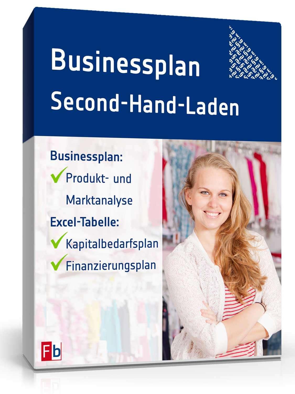Businessplan Second Hand Laden Muster Zum Download