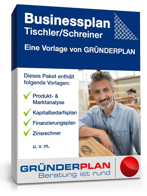 businessplan tischler schreiner von gr nderplan muster zum download. Black Bedroom Furniture Sets. Home Design Ideas
