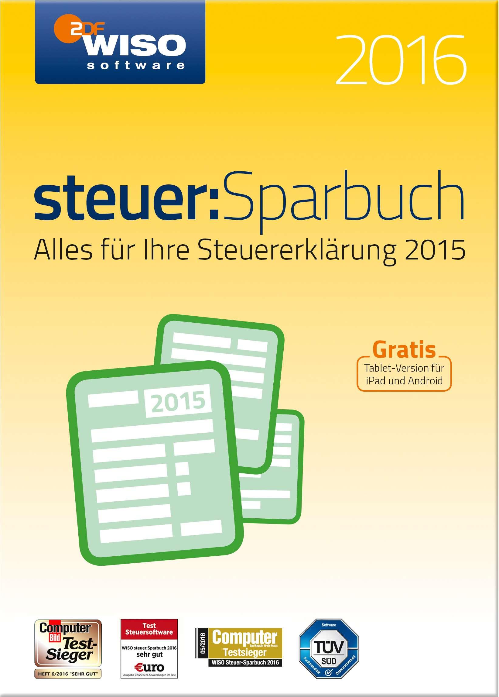 WISO steuer:Sparbuch 2016 | Jetzt Download zum Top-Preis!