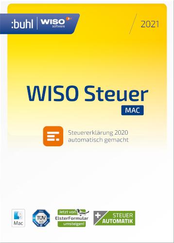 WISO Steuer-Mac 2021 kaufen für Einkommensteuer 2021