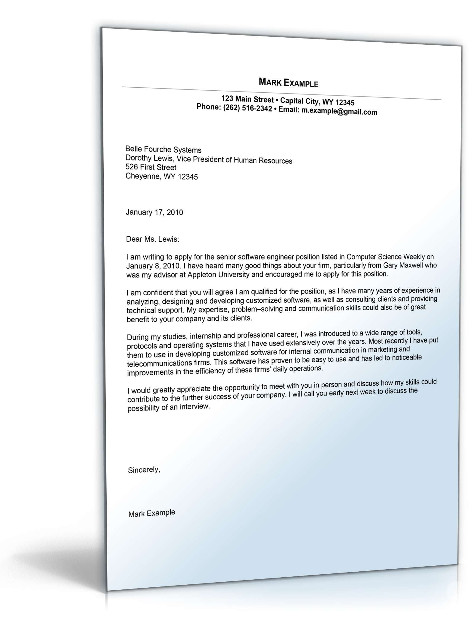 Cover Letter Template Germany Cover Coverlettertemplate