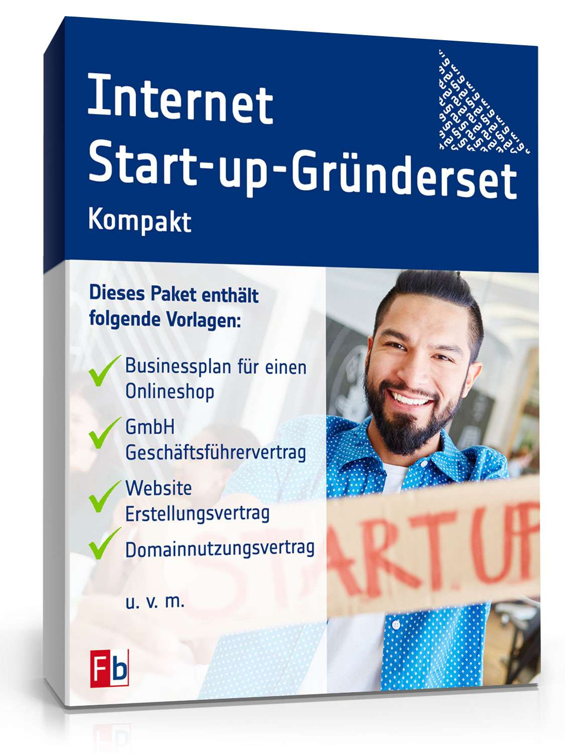 Internet-Start-up-Gründerset kompakt