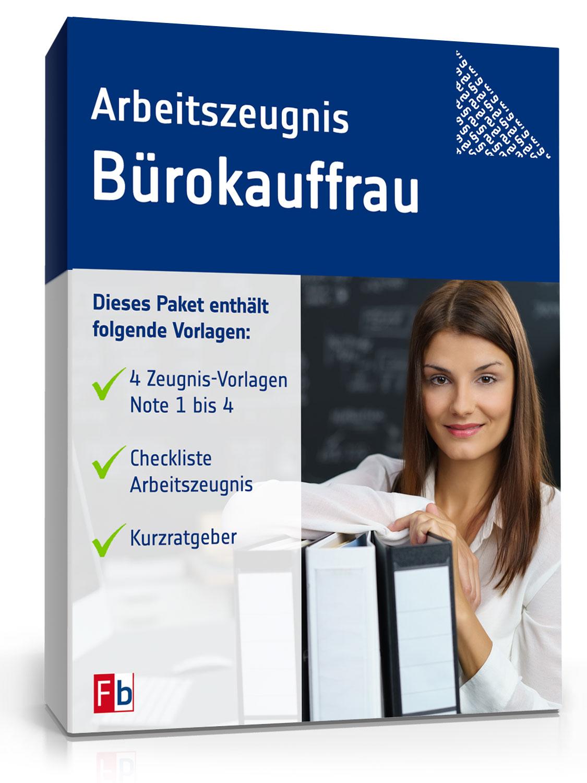 Arbeitszeugnis Bürokauffrau Muster Zum Sofort Download