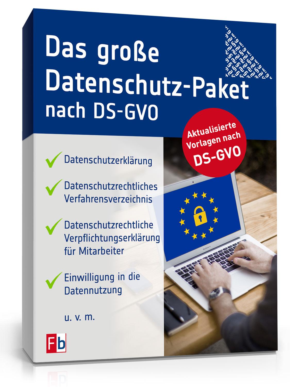 Das Große Datenschutz Paket Vorlagen Zum Download