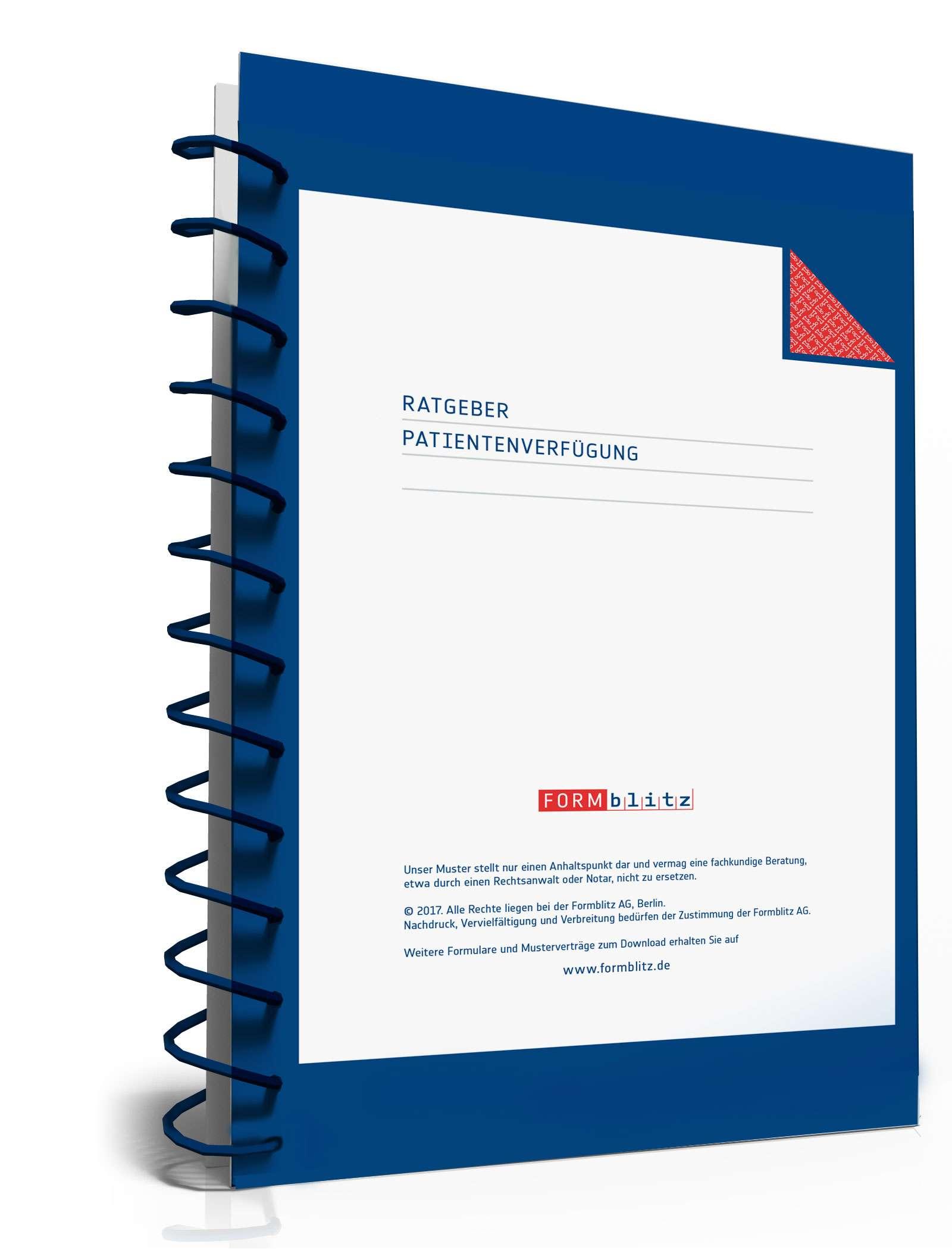ratgeber patientenverf gung zum download als pdf. Black Bedroom Furniture Sets. Home Design Ideas