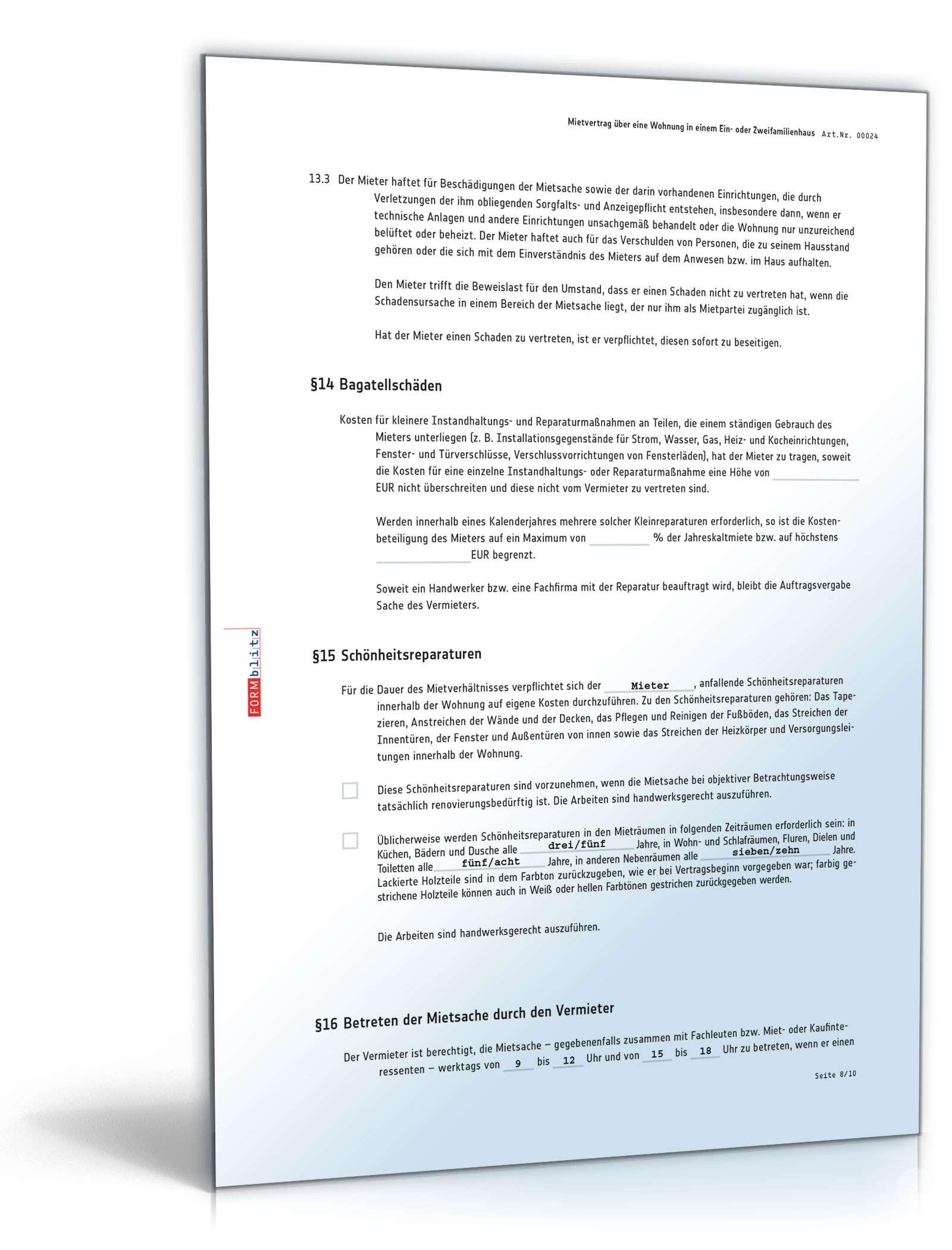 Charmant Blank Mietvertrag Bilder - FORTSETZUNG ARBEITSBLATT ...