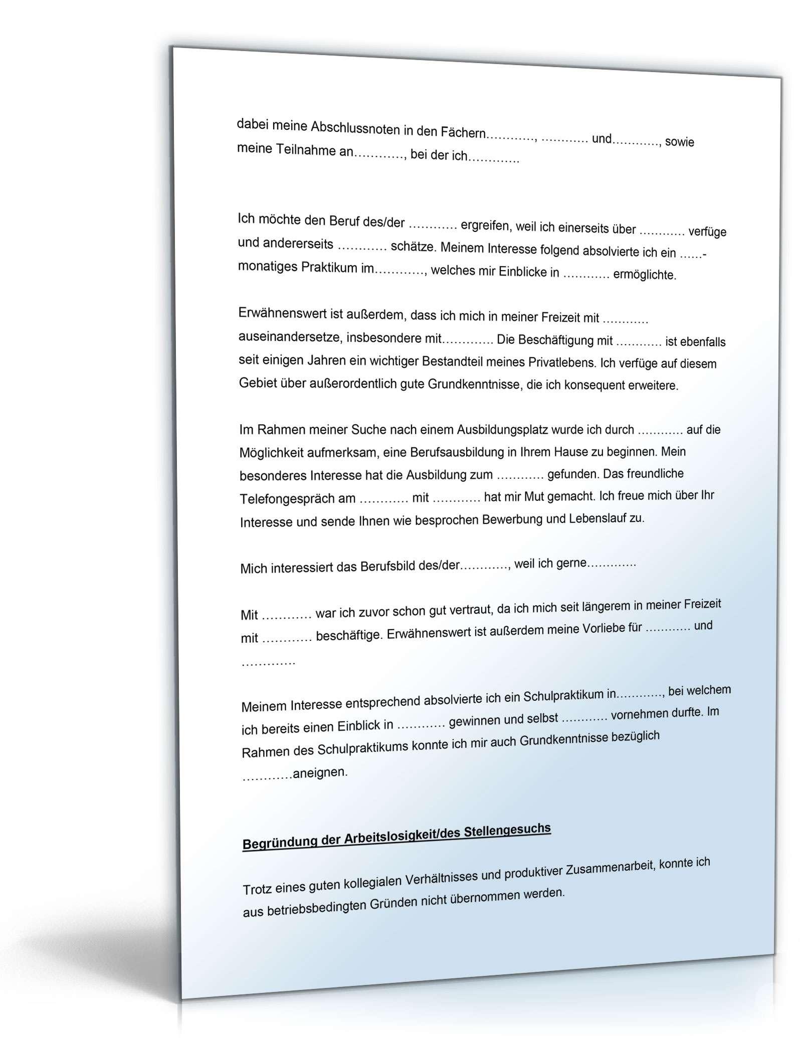 Großartig Allgemeines Format Eines Guten Lebenslaufes Zeitgenössisch ...