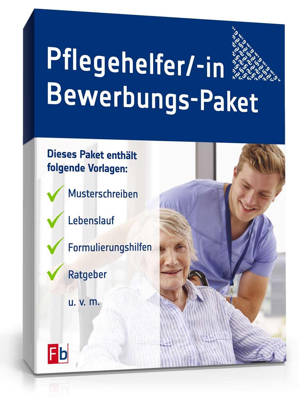 bewerbungs paket pflegehelfer - Bewerbung Pflegehelfer