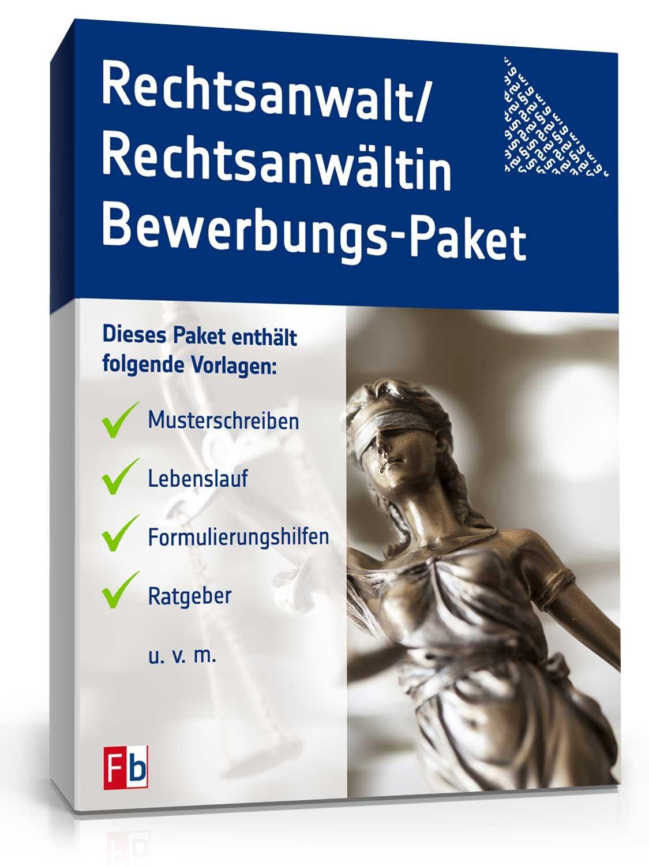 Bewerbungs Paket Rechtsanwalt