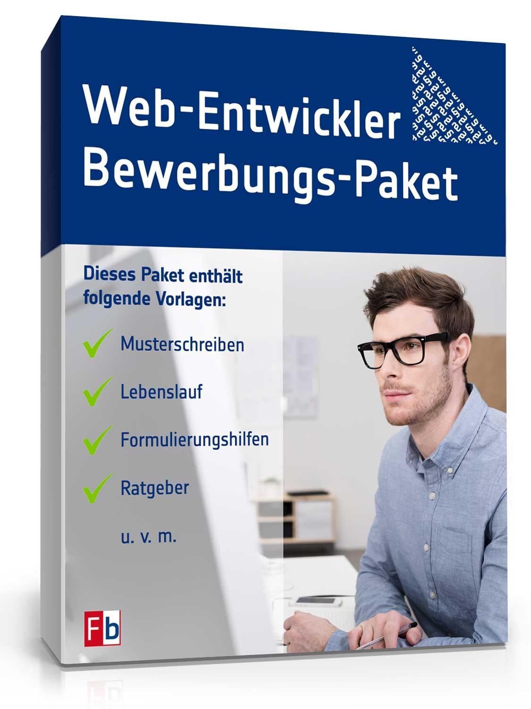 Bewerbung Web Entwickler Als Muster Kostenlos Zum Download