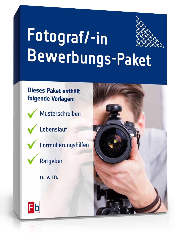 bewerbungs paket fotograf - Bewerbung Als Fotograf