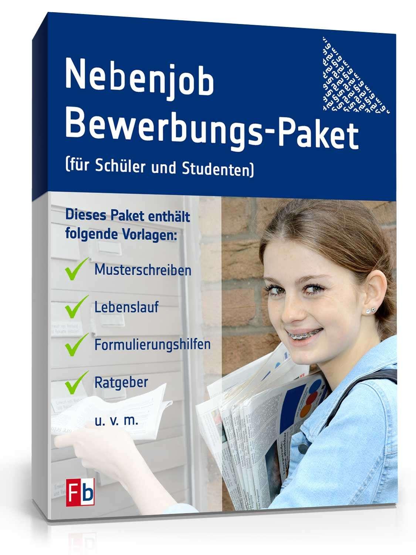 Bewerbungs Paket Nebenjob Für Schüler Muster Zum Download