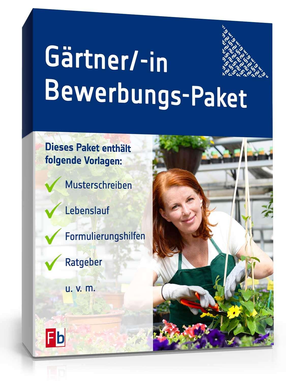 Bewerbungs Paket Gärtner Muster Zum Download