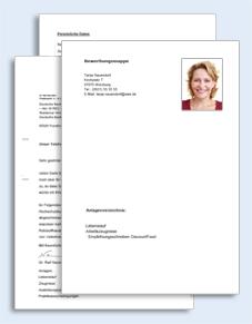bewerbung als kassiererin muster kostenlos Bewerbungs Paket Kassiererin | Muster zum Download