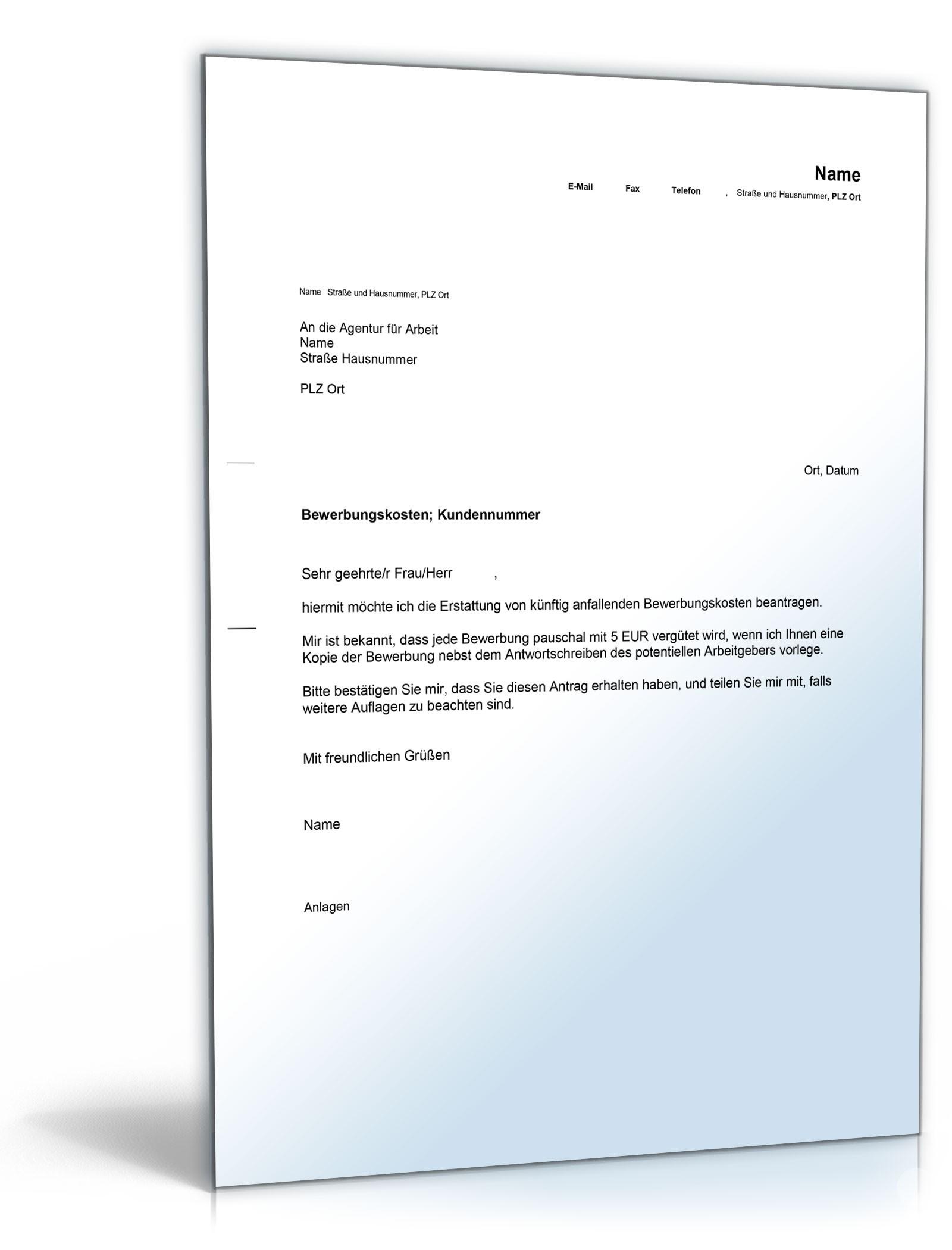 Bewerbungs-Paket Kellner | Muster zum Download