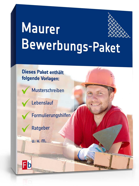 Bewerbungs-Paket Maurer | Muster zum Download