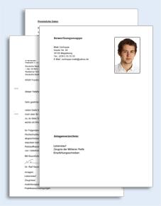 Bewerbungs Paket Zimmermann Muster Zum Download