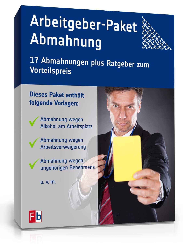 Abmahnungen Im Paket Muster Vorlagen Zum Download