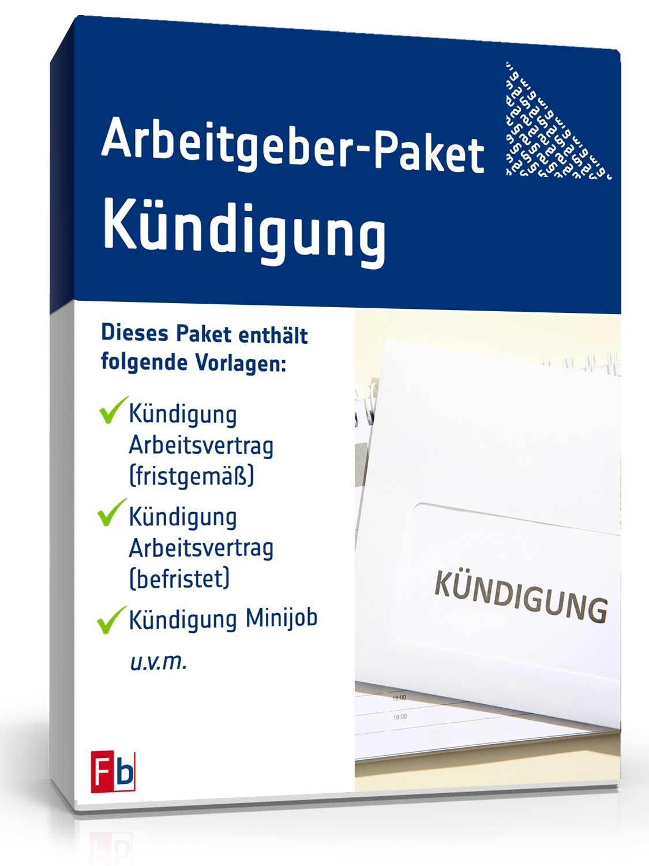 Arbeitgeber Paket Kündigungen Muster Vorlagen Und Ratgeber Zum