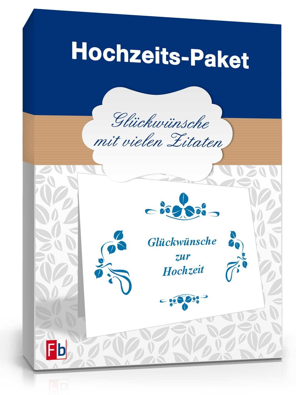 Hochzeits-Paket Glückwünsche   Muster zum Download