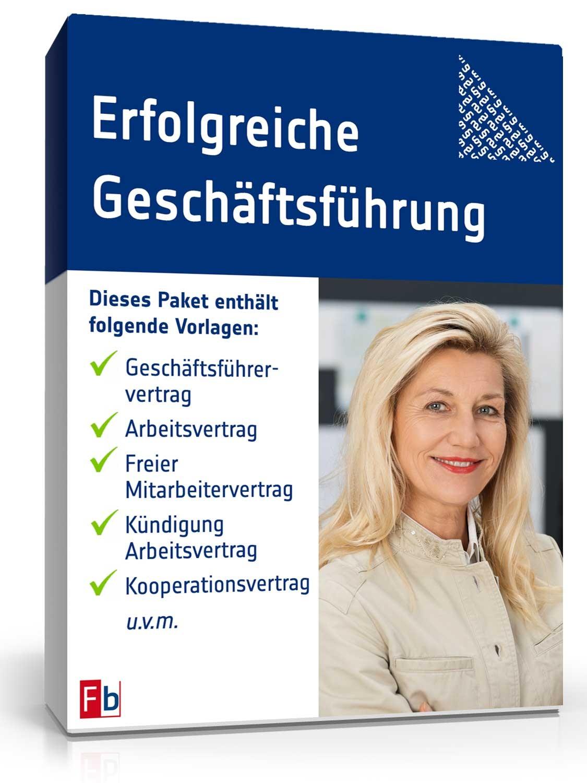 vorlagen fr geschftsfhrer muster vordrucke zum download - Geschaftsfuhrervertrag Muster