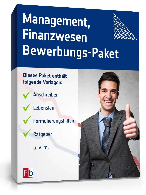 Bewerbung Management im Finanzwesen: Kostenloses Muster zum Downloaden