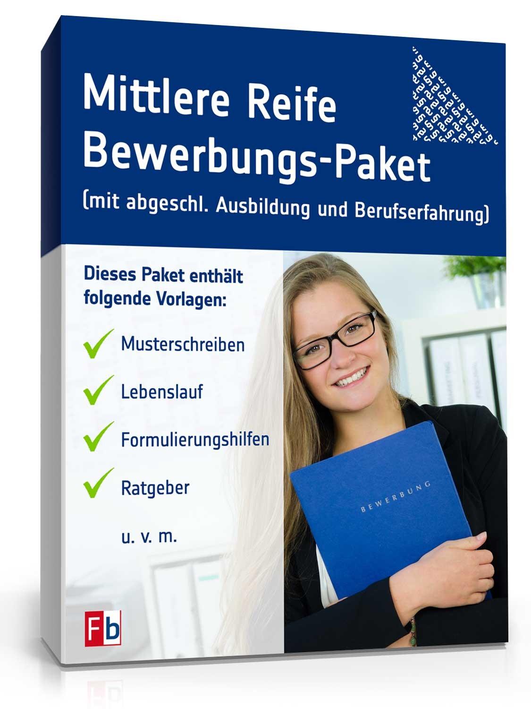 Bewerbungs Paket Mittlere Reife Muster Zum Download