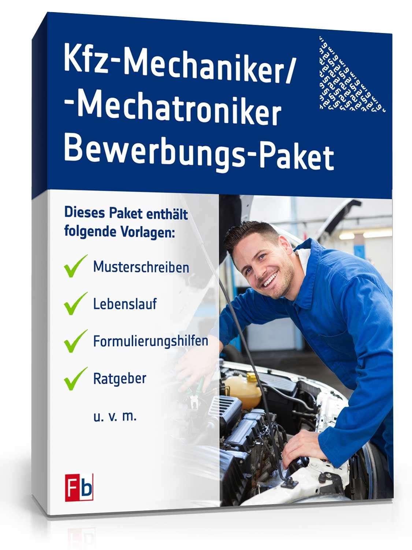 bewerbung kfz mechatroniker - Bewerbung Kfz Mechatroniker