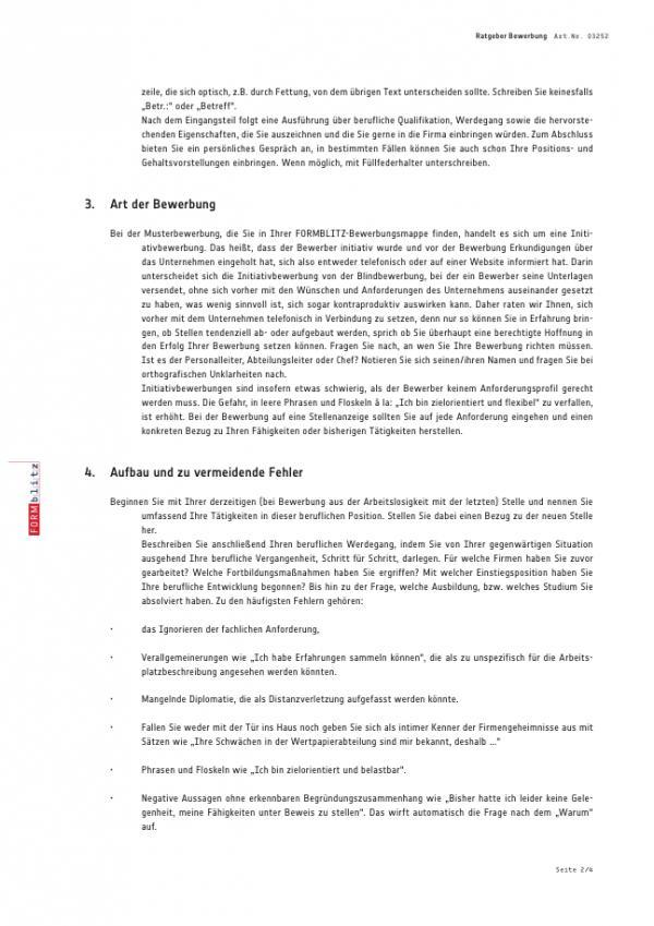 Bewerbungs Paket Abitur Muster Zum Download