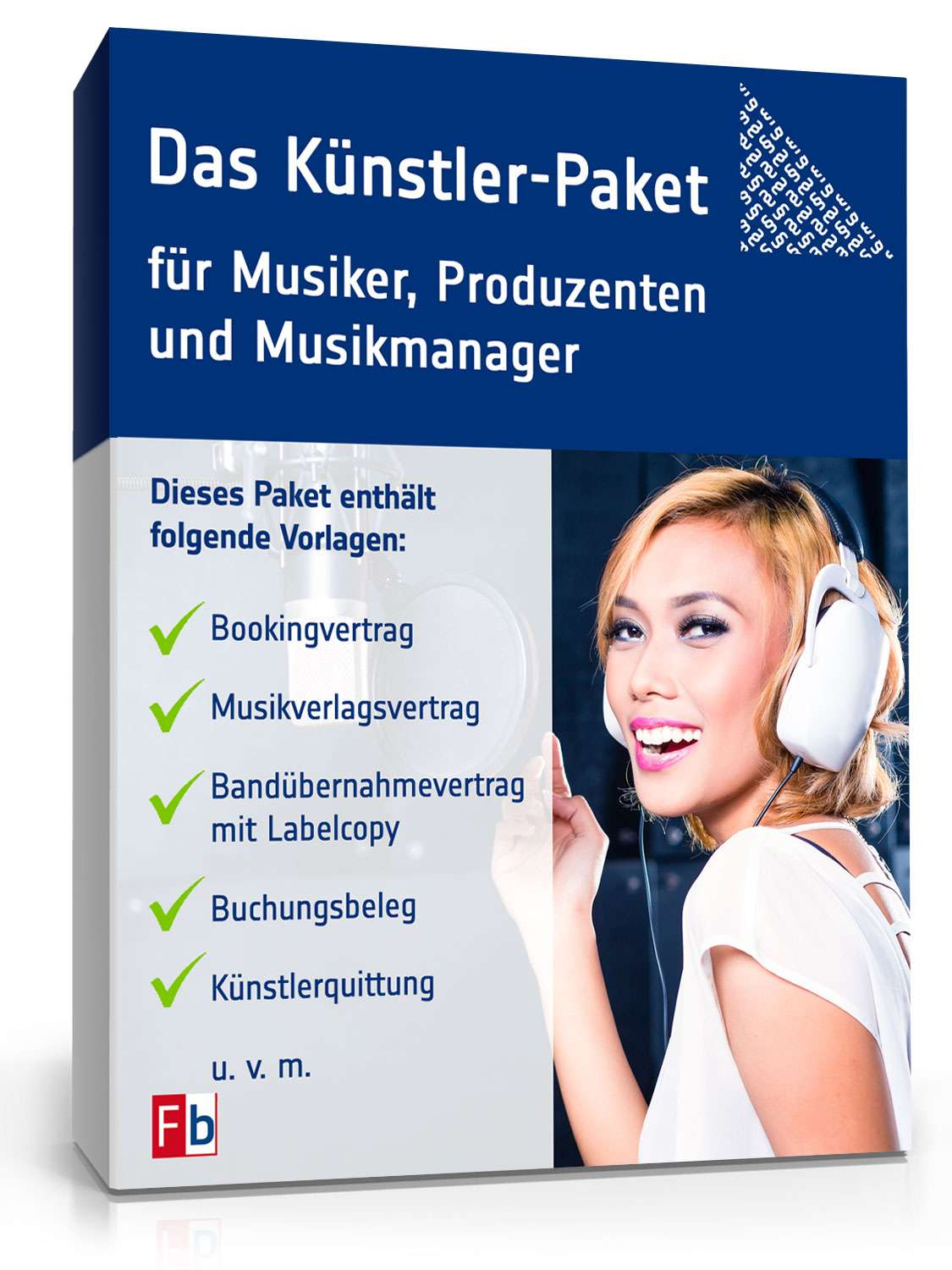 das k nstler paket f r musiker produzenten und. Black Bedroom Furniture Sets. Home Design Ideas