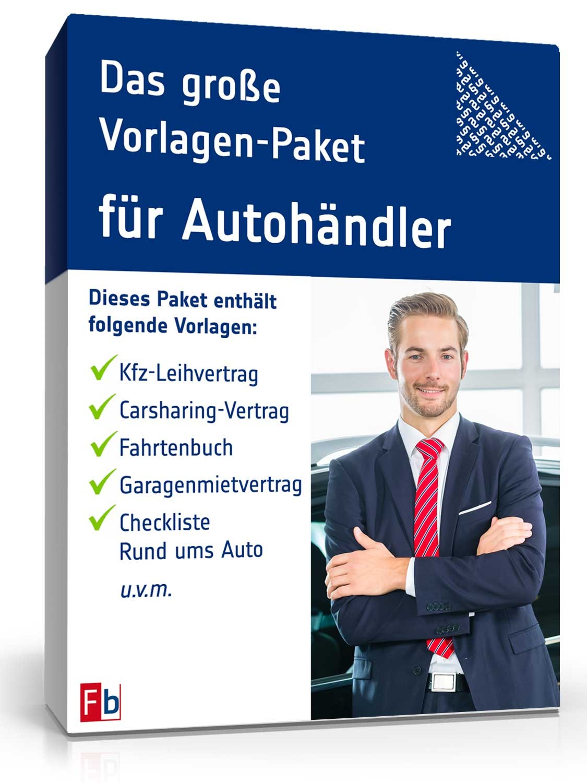 Das große Auto-Paket: Verträge & Vorlagen zum Download