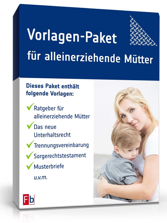 Vorlagen Paket Für Alleinerziehende Mütter Zum Download