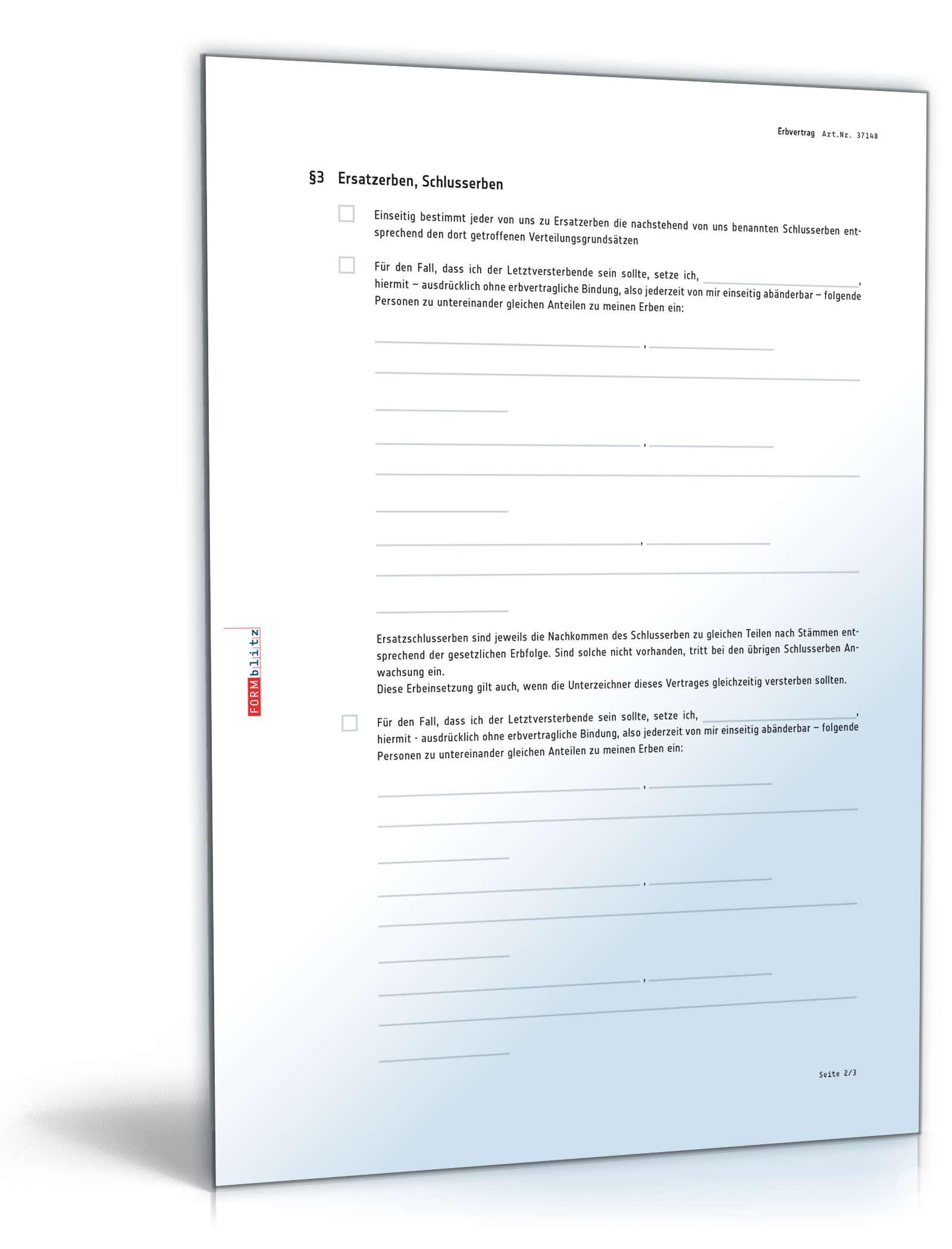 pdf seite 2 - Erbvertrag Muster