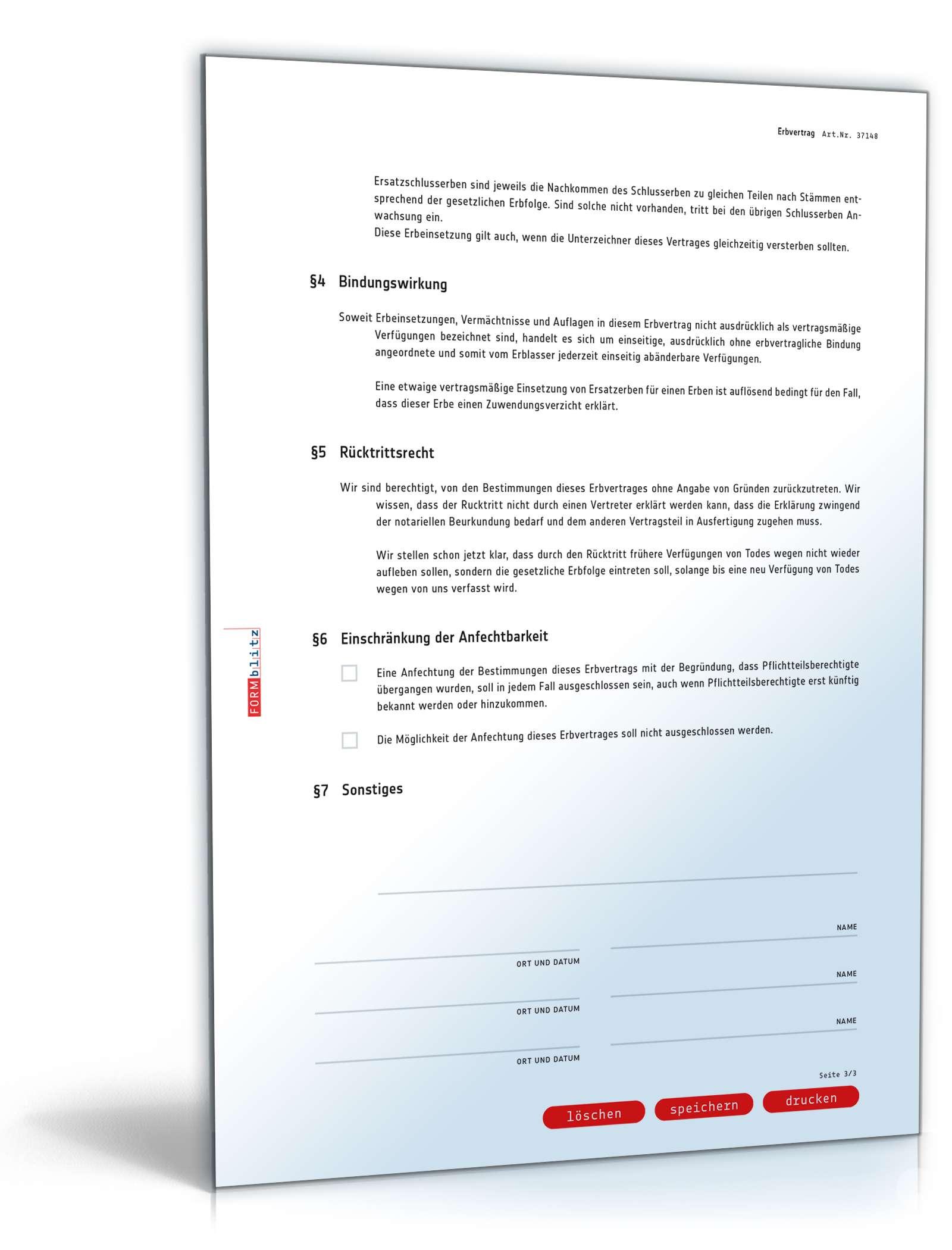 pdf seite 3 - Erbvertrag Muster