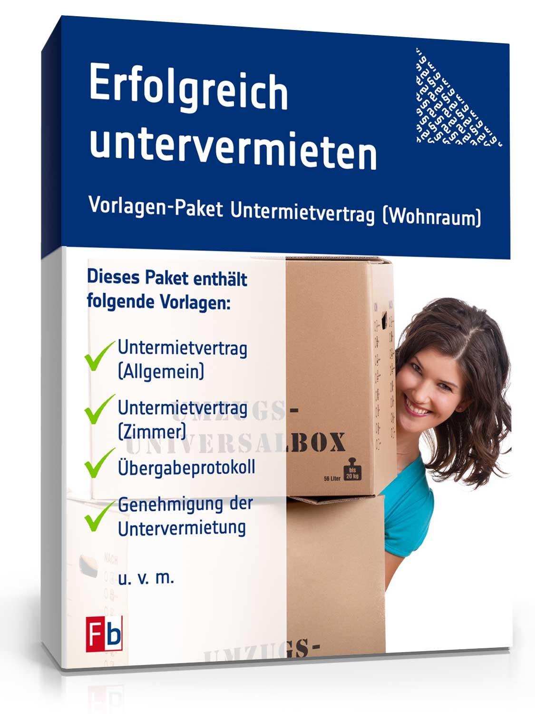Erfolgreich untervermieten: Vorlagen-Paket downloaden