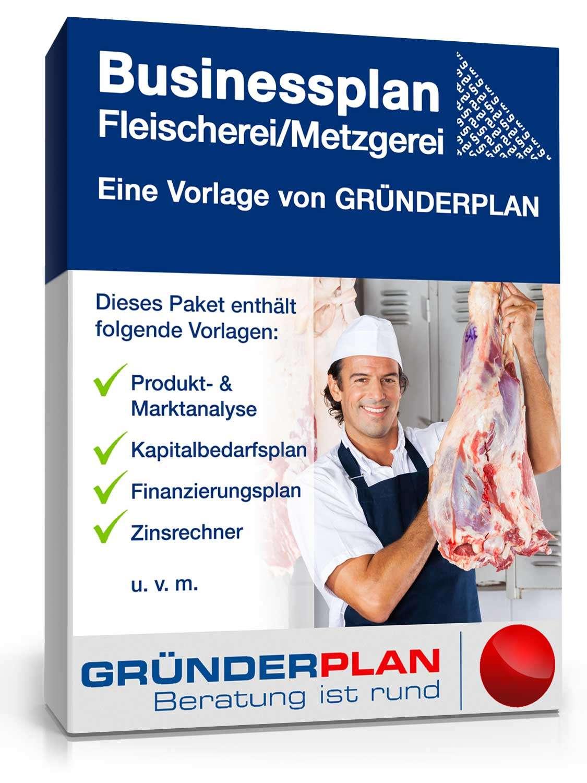 Businessplan Fleischereimetzgerei Von Gründerplan Muster Zum Download