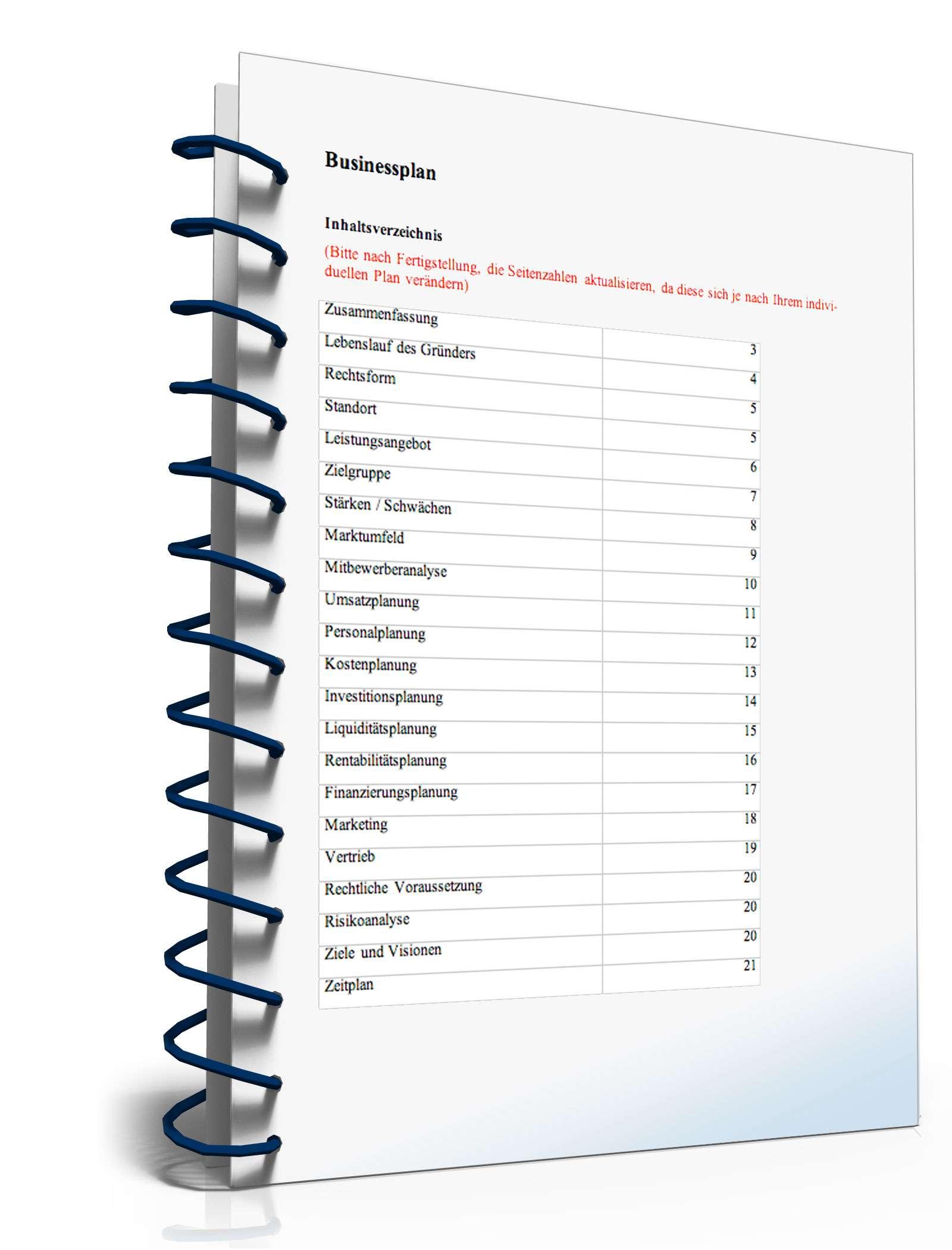 Businessplan Fliesenleger Von Gründerplan Muster Zum Download