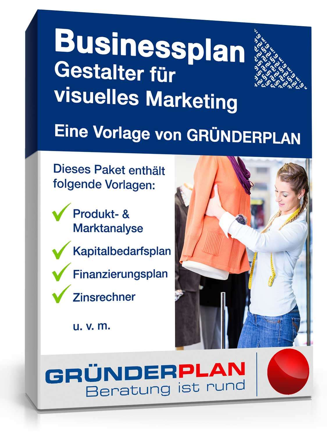 businessplan gestalter f r visuelles marketing von gr nderplan muster zum download. Black Bedroom Furniture Sets. Home Design Ideas