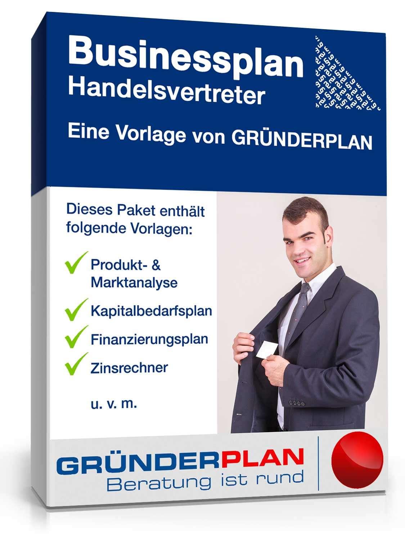 businessplan handelsvertreter von grnderplan - Geschaftsplan Muster
