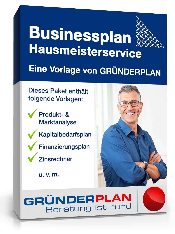 Businessplan Hausmeister von Gründerplan | Muster zum Download