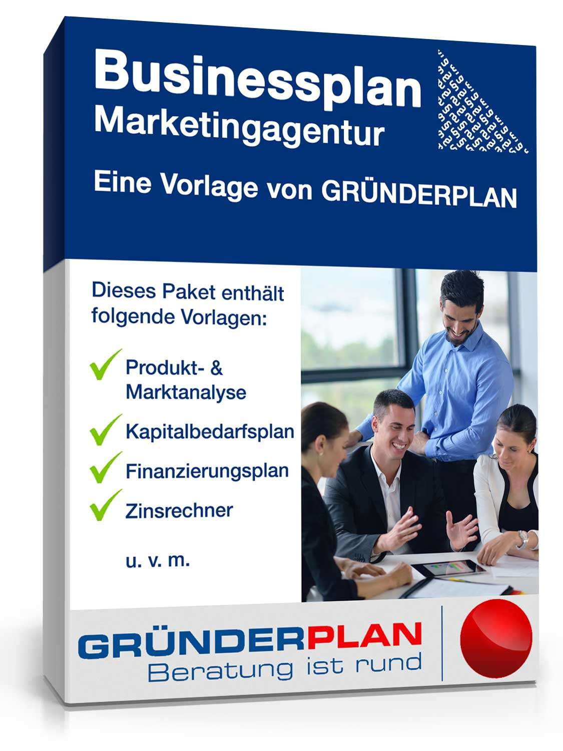 Businessplan Marketingagentur von Gründerplan