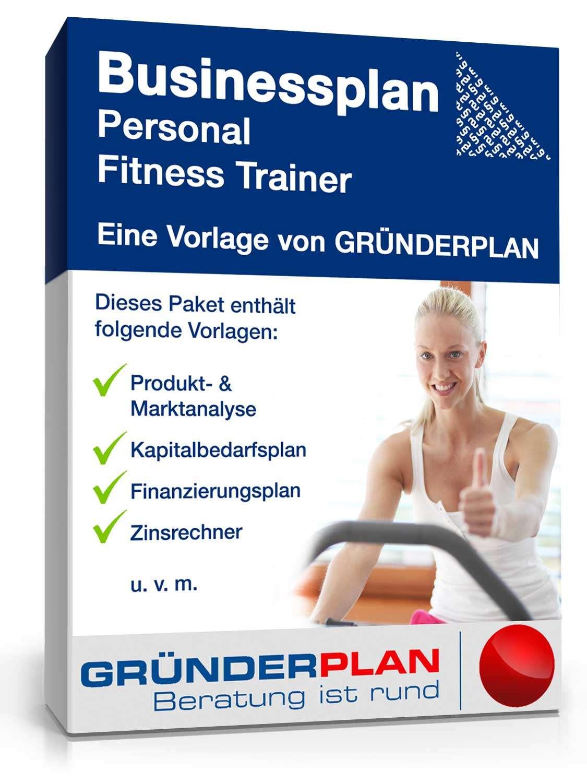 businessplan personal fitness trainer von gr nderplan