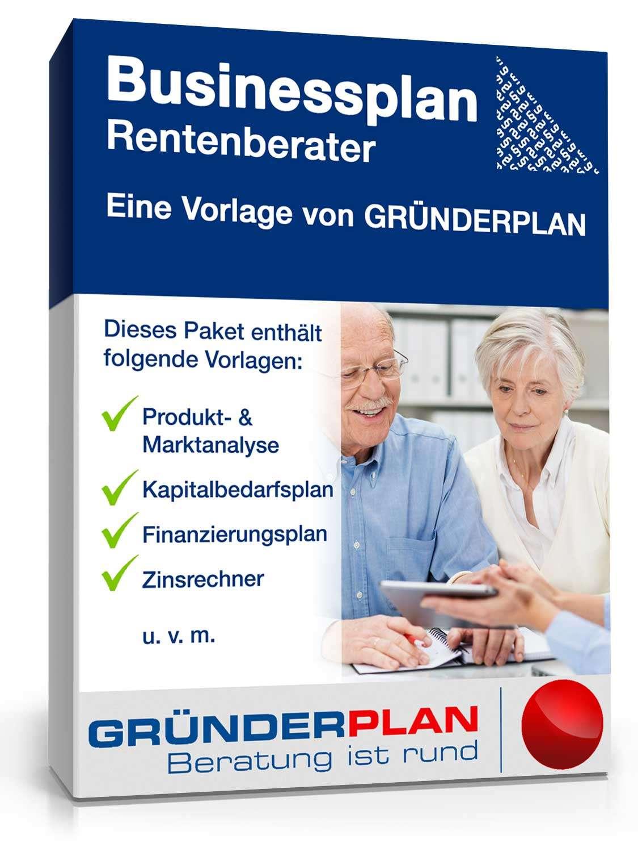 Musterbriefe Unfallversicherung : Businessplan rentenberater von gründerplan muster zum
