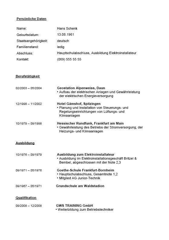 Elektroniker Bewerbungs-Paket | Vorlagen zum Download