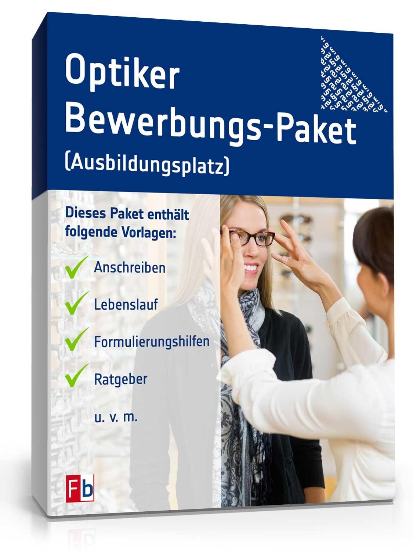Bewerbung Ausbildung Zum Optiker Muster Kostenlos Zum Download
