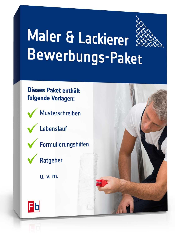 Bewerbungs-Paket Maler und Lackierer | Muster zum Download