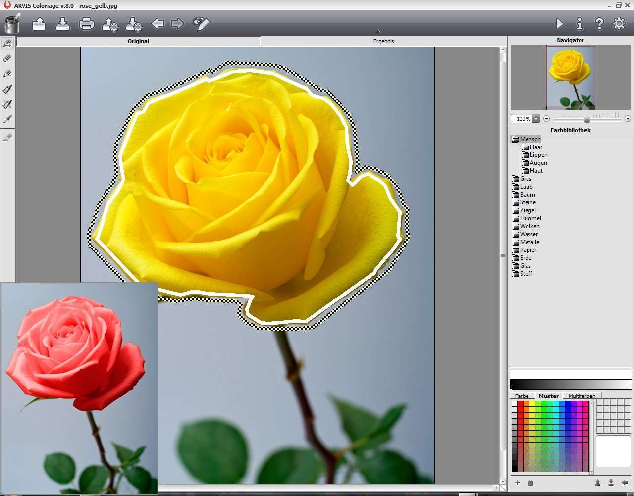 X Color effect pro 9.0 Beispiel1