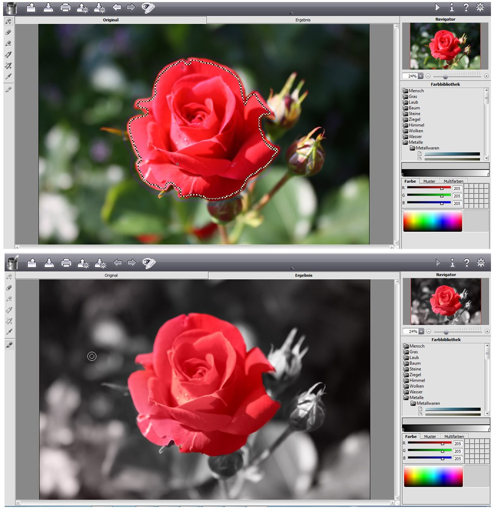 X Color effect pro 9.0 Beispiel3