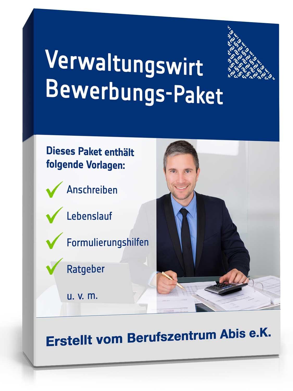 Bewerbungs-Paket Verwaltungswirt | Muster zum Download