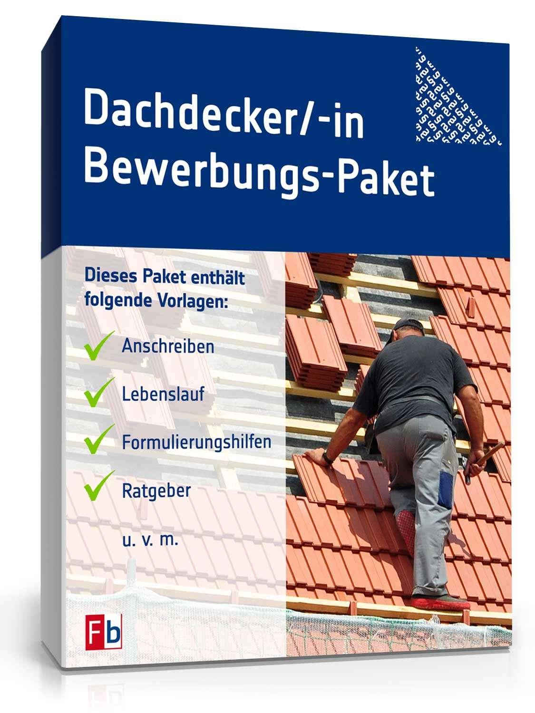 Bewerbungs Paket Dachdecker Muster Zum Download